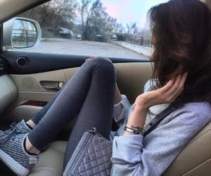 adidas, bag, and car image