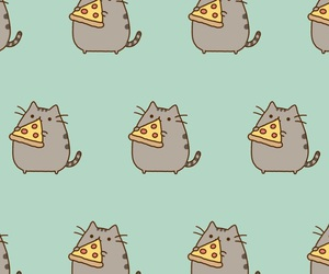 background, pusheen, and cat image