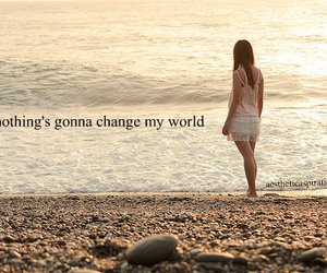 change, gonna, and My World image