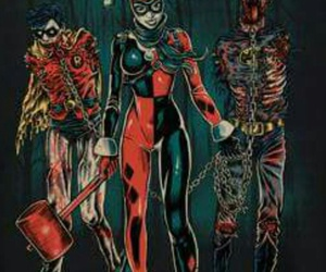 harleen quinzel, harley, and Quinn image