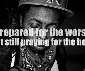 lil wayne, black and white, and quotes image