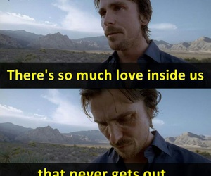 christian bale, sad, and knight of cups image
