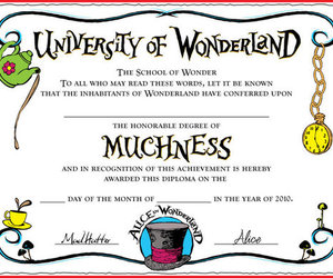 alice in wonderland and muchness image