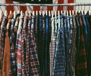 grunge, clothes, and shirt image