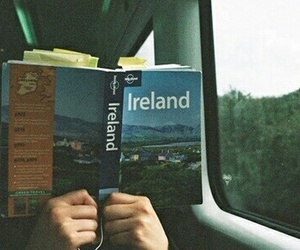 ireland, book, and travel image