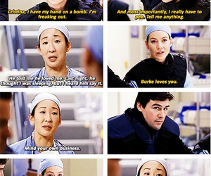 funny, greys anatomy, and twisted sisters image