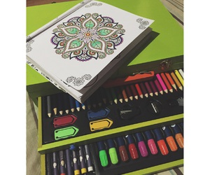 art, colors, and mandalas image