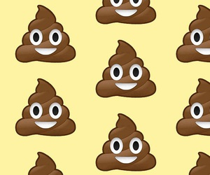 poop, funny, and emoji image