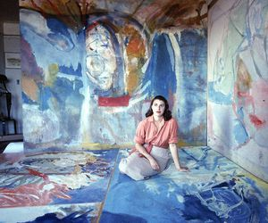art, painting, and helen frankenthaler image
