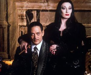 the addams family, Morticia Addams, and gomez addams image