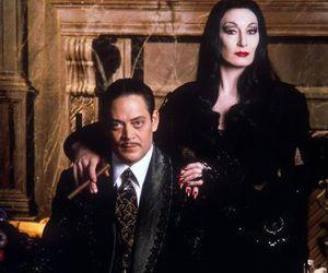 Morticia Addams, the addams family, and gomez addams image