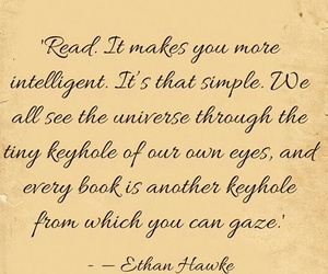 books, ethan hawke, and read image