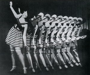 b&w, dancing, and 1930s image