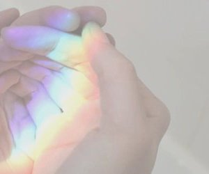 image and rainbow image