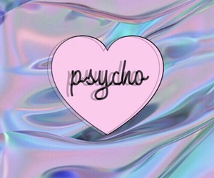 wallpaper, Psycho, and pink image