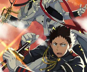 anime, crossover, and iwaizumi hajime image