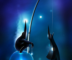 art, blue, and Dream image