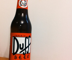 beer, Duff, and simpsons image
