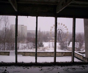 snow and chernobyl image