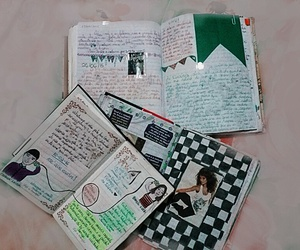 book, dear, and diaries image