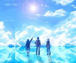 anime, yukine, and hiyori image