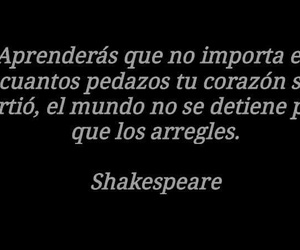 frases, shakespeare, and poesía image