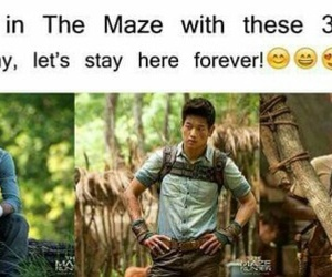 Minho, maze runner, and dylan o'brien image
