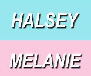 halsey, marina, and melanie image