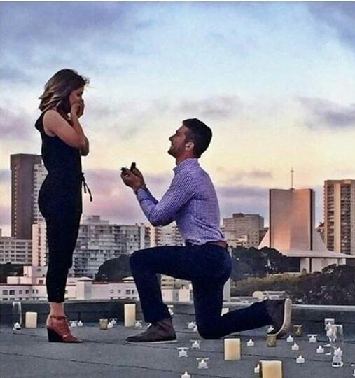 couple, engaged, and future image