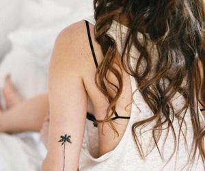 beauty, tattoo, and fashion image