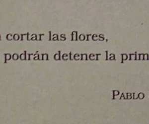 primavera, flores, and frases image