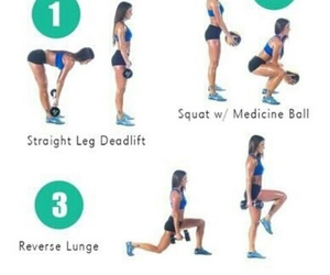 workout, butt, and fitness image
