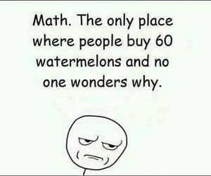 math, funny, and quote image