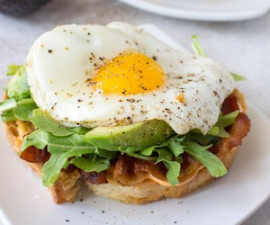 avocado, sandwich, and breakfast image