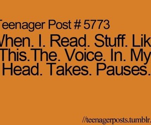 teenager post, funny, and pause image