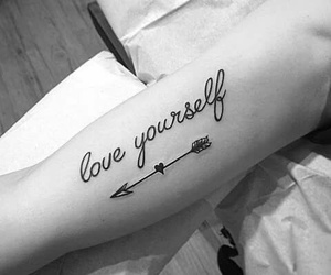 tattoo and arrow image