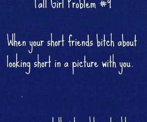 tall girl problem image