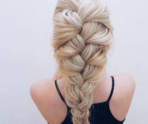 hairstyle, braid, and hair image
