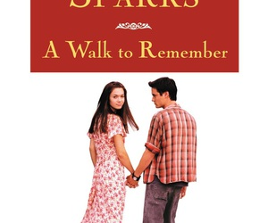 A Walk to Remember, book, and film image