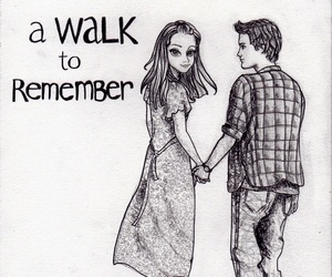 A Walk to Remember and nicholas sparks image