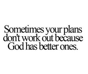 god, quote, and plan image