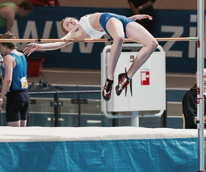 athlete, athletics, and bar image