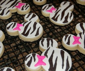 Cookies, pink, and zebra image