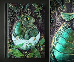 book cover, dragon, and fantasy image
