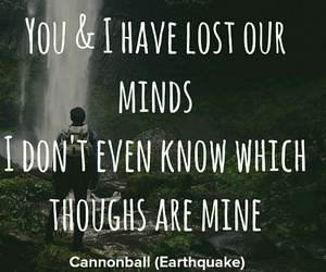 cannonball, earthquake, and mind image