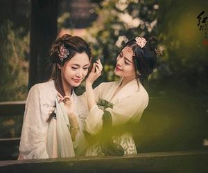 china, chinese girl, and hairstyles image