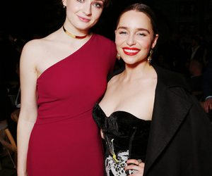 emilia clarke, game of thrones, and sophie turner image