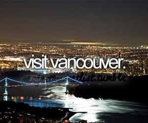 vancouver, canada, and travel image