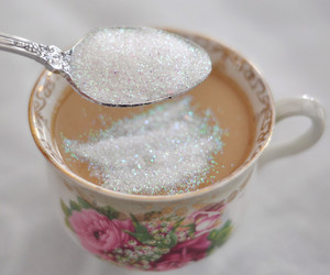 tea, sugar, and aesthetic image