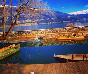 autumn, ioannina, and lake image